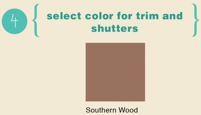 Perfect Color Scheme For A Spanish Style Home - Trim Color