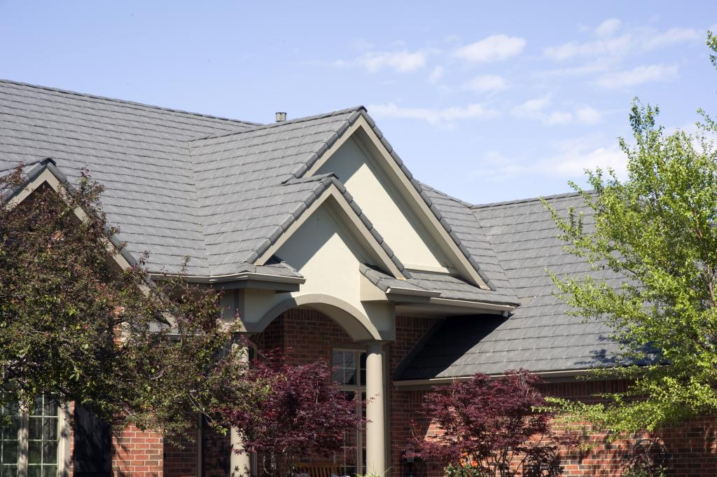 Polymer roofing stands up to microburst davinci roofscapes for Polymer roofing