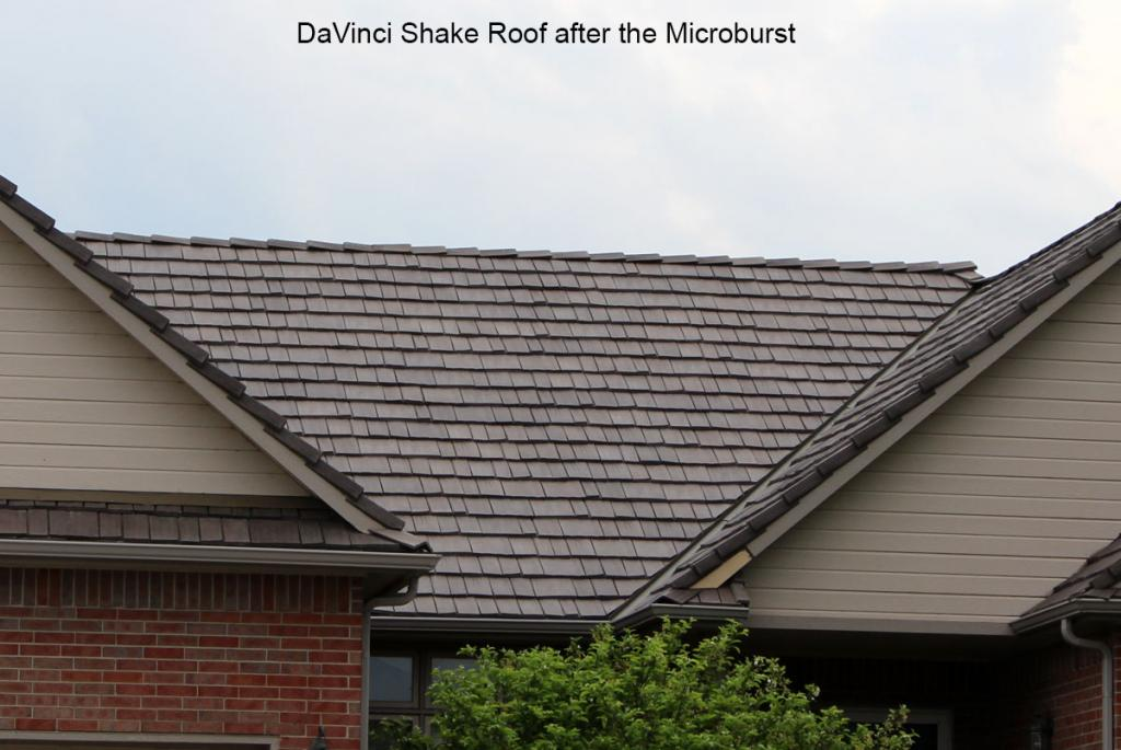 Hoa selects polymer roofing davinci roofscapes for Polymer roofing