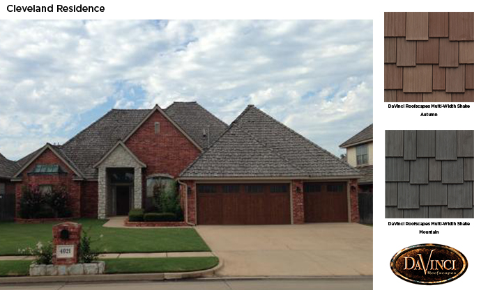 Color help in oklahoma davinci roofscapes for Davinci roofscapes llc
