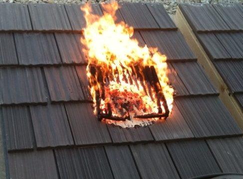Fake Shake Roof