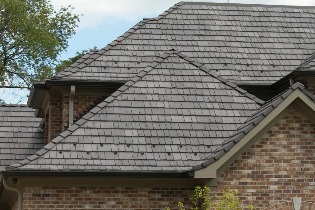 Save With Imitation Slate And Synthetic Shake Roofing