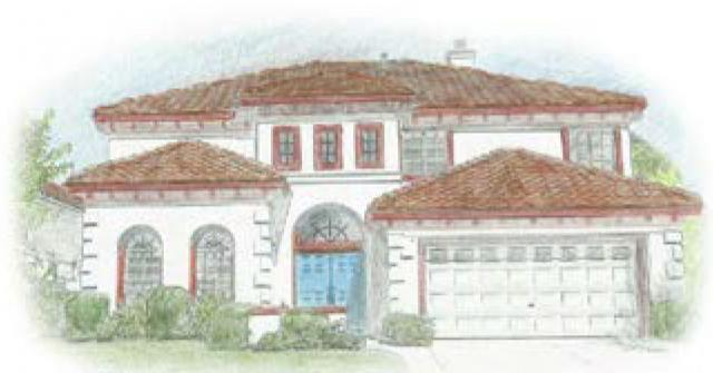 Spanish Mission Style Homes Designer Roof