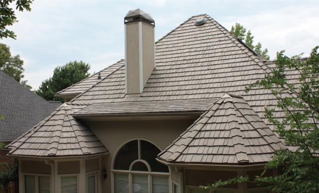One year later what it 39 s like to have a davinci polymer for Polymer roofing