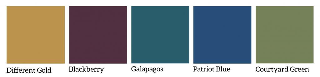 2016 Color Trends Home Exterior