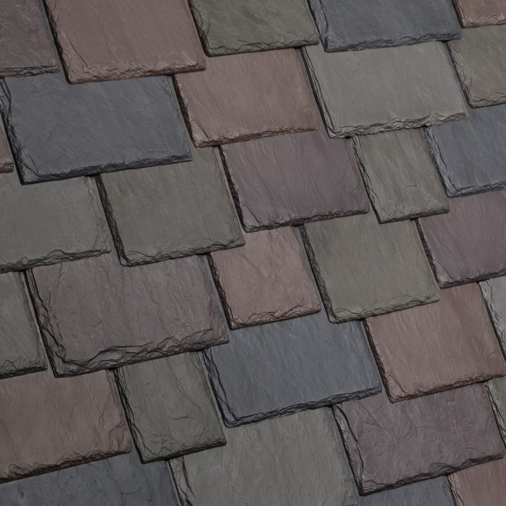 New profile for davinci multi width slate roof tiles Davinci roofing products