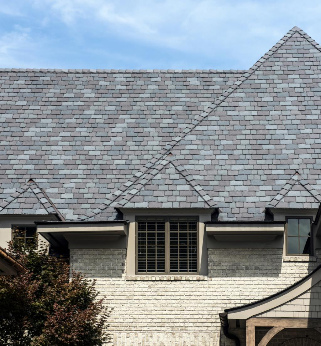 Europeu0027s Slate Roofing Colors Are Still Admired But Todayu0027s Homeowners  Demand Higher Quality And Less Maintenance. The Best Foreign Inspired  Solution: ...
