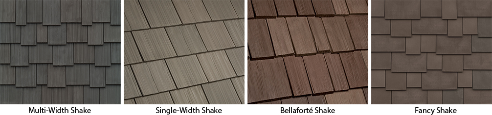 Polymer Shake Roofing