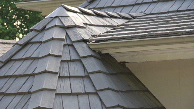 Polymer Shake Roof TIles