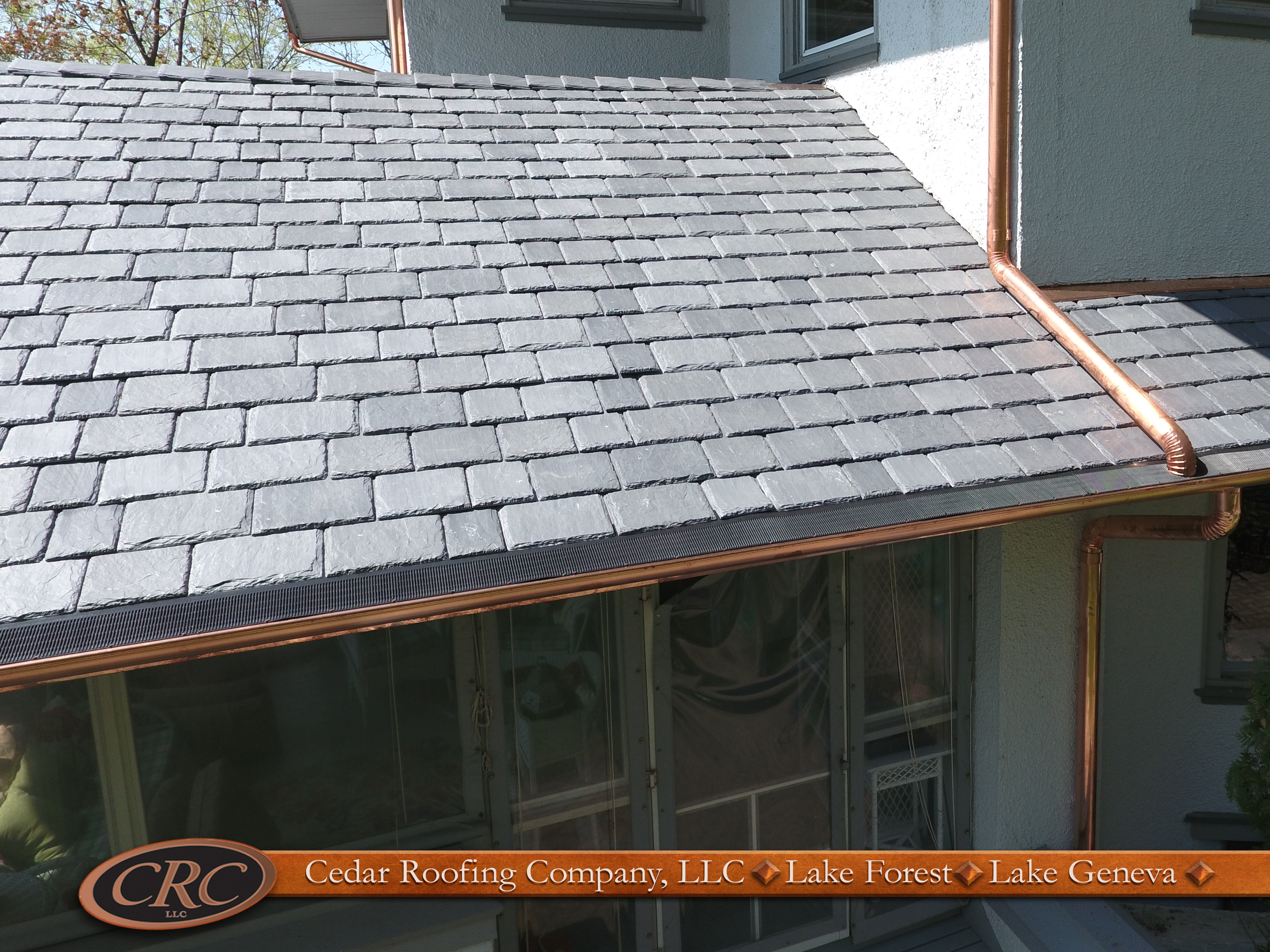 Featured project fontana wi davinci roofscapes for Davinci roofscapes llc
