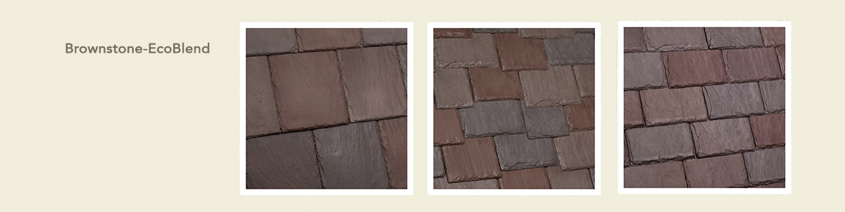 davinci brownstone-eco color blends in light brown, dark stone and dark tan