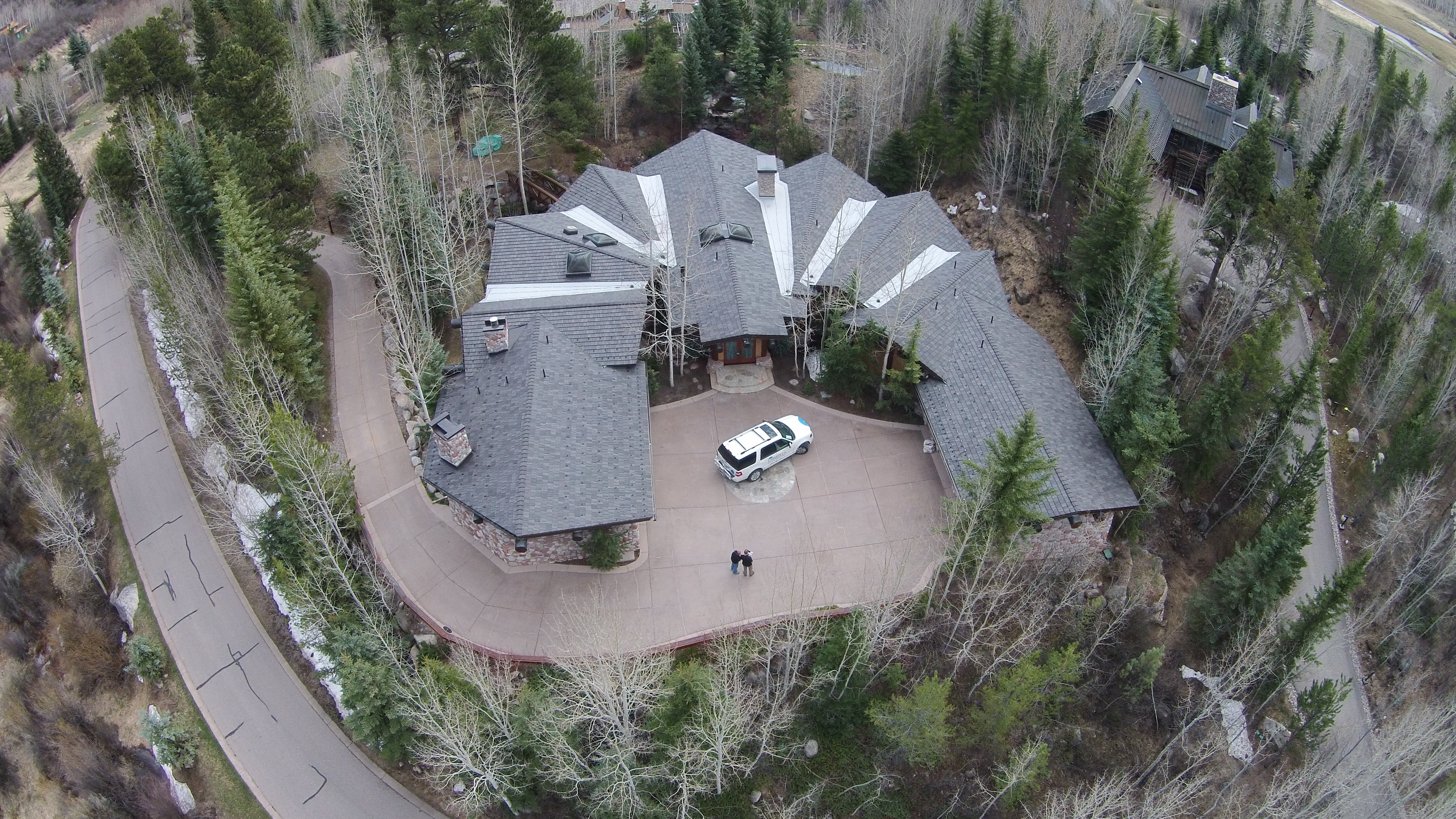 Featured project aspen co davinci roofscapes for Davinci roofscapes llc