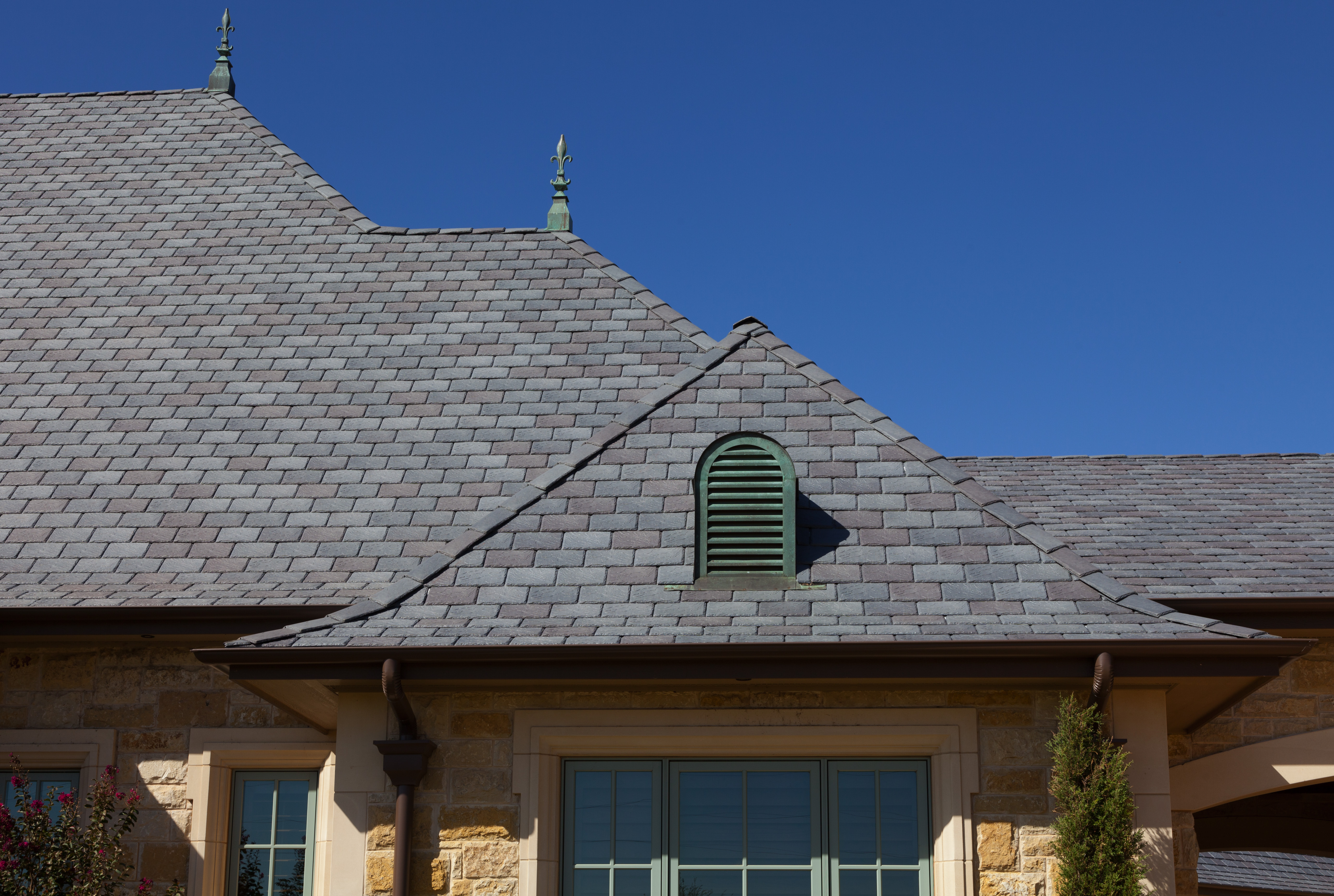 Stagger archives davinci roofscapes for Davinci slate roof