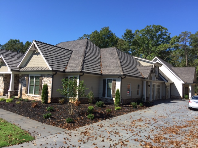 Featured project dawnsonville ga davinci roofscapes for Davinci roofscapes llc