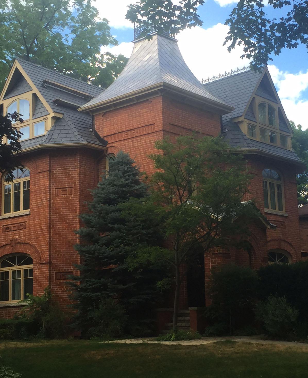davinci roof on historic brick home
