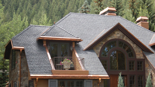 clay tile roof on 1937 home