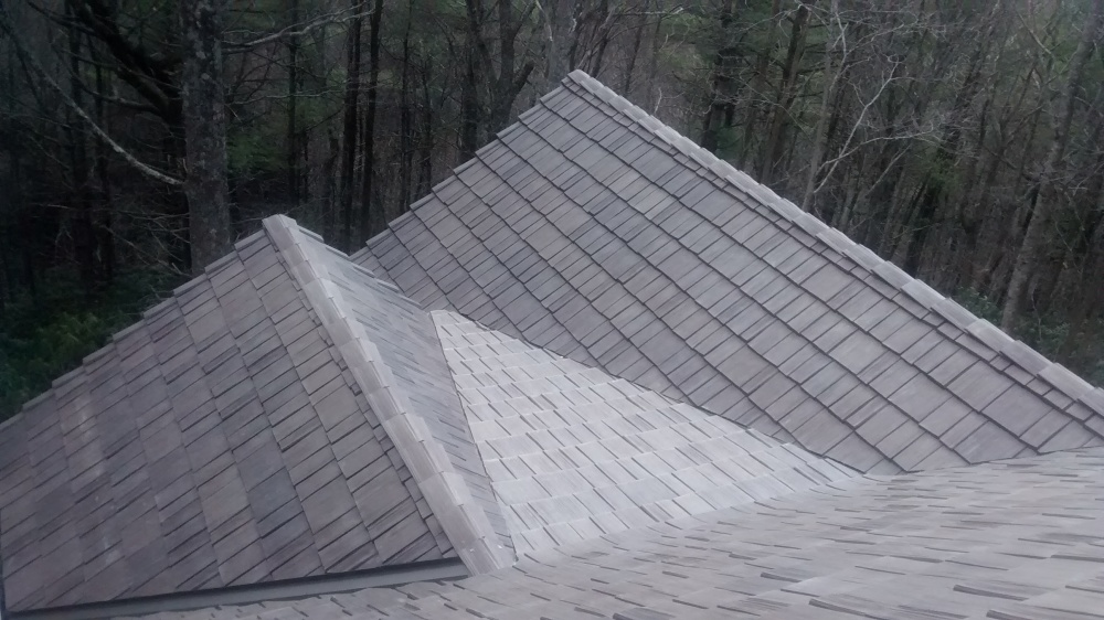 davinci Synthetic Shake roofing