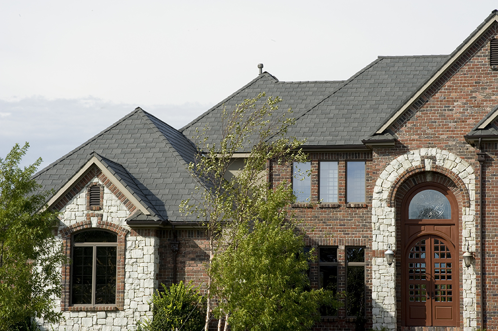 home with davinci composite roof