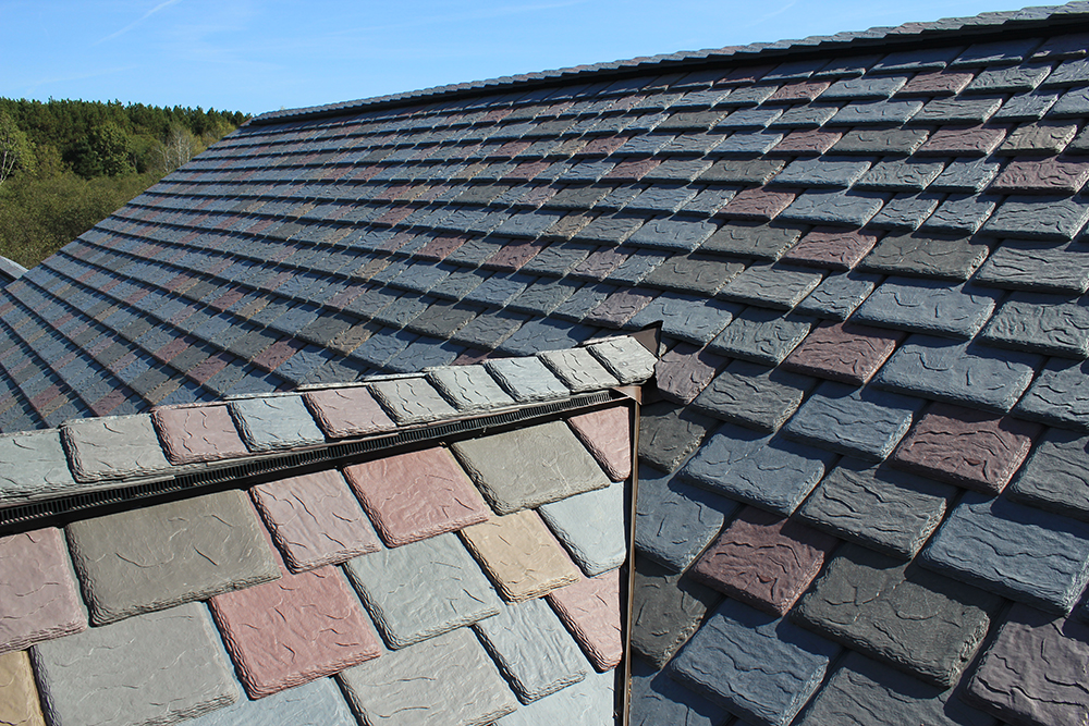 synthetic slate choices davinci roofscapes