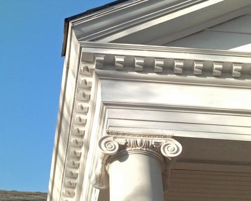 columns with entablature