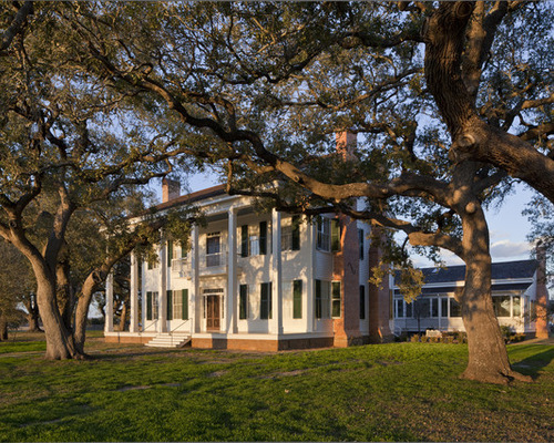 classical plantation style house