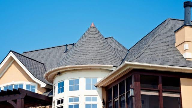 slate gray roof