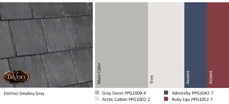 Smokey Gray Gray Stone