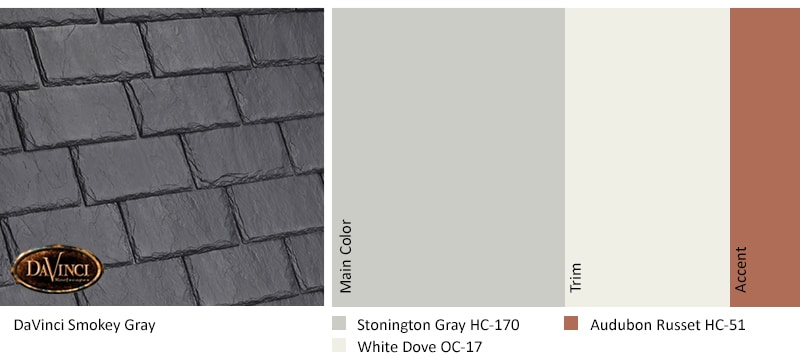 Smokey Gray Stonington Gray