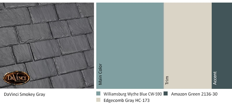 Smokey Gray Williamsburg Wythe Blue