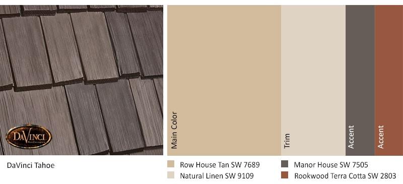 Tahoe Row House Tan