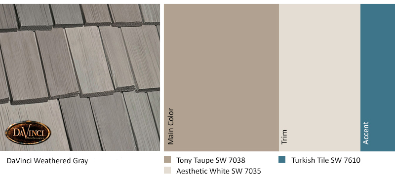 Weathered Gray Tony Taupe