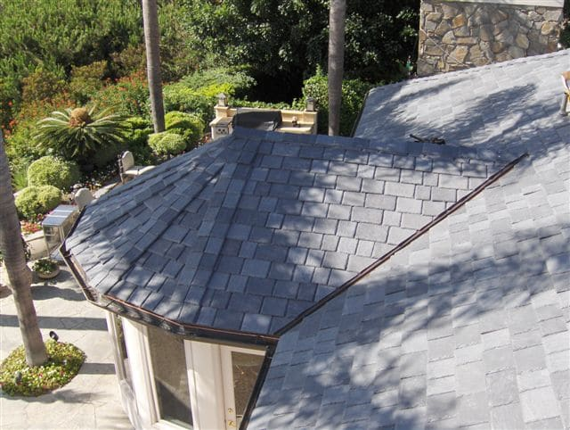 Roof during the day