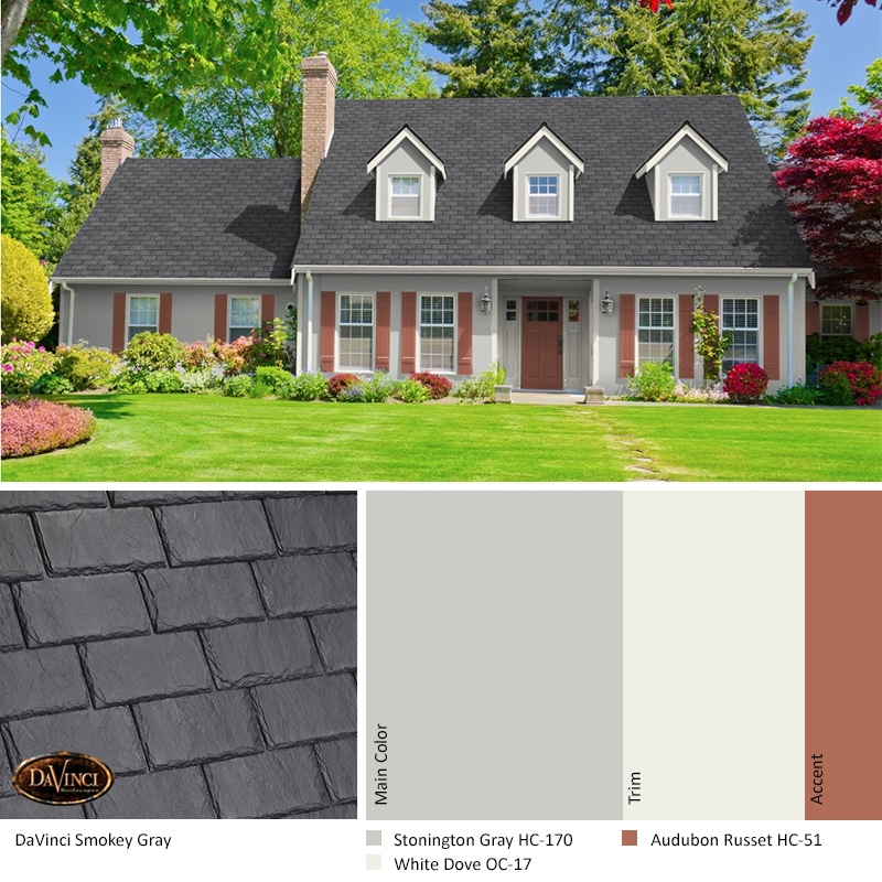 DV Slate SW Smokey Gray-VariBlend_with house