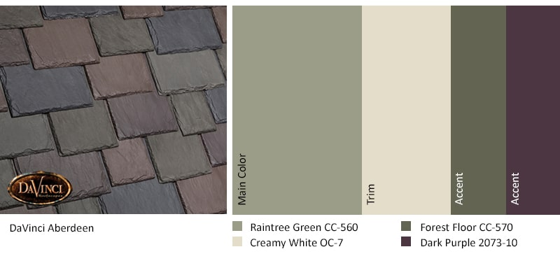 Regional Exterior Colors Long Island, NY - Raintree Green