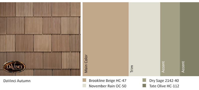 Regional Exterior Colors of Long Island Benjamin Moore Brookline Beige