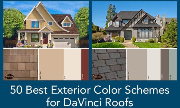 Best Exterior Color Schemes for DaVinci Roofs