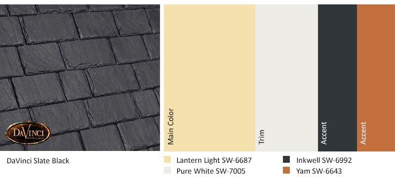 Regional Exterior Colors of Long Island Sherwin-Williams Lantern Light