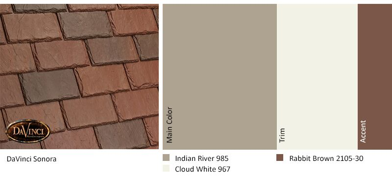 regional exterior colors Orange County Sonora Indian River