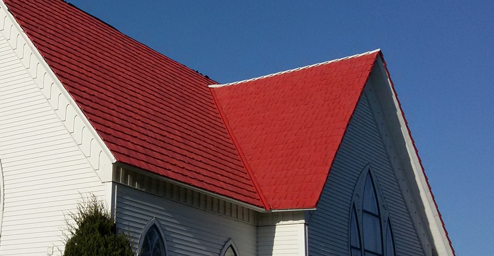 custom colors composite roofing