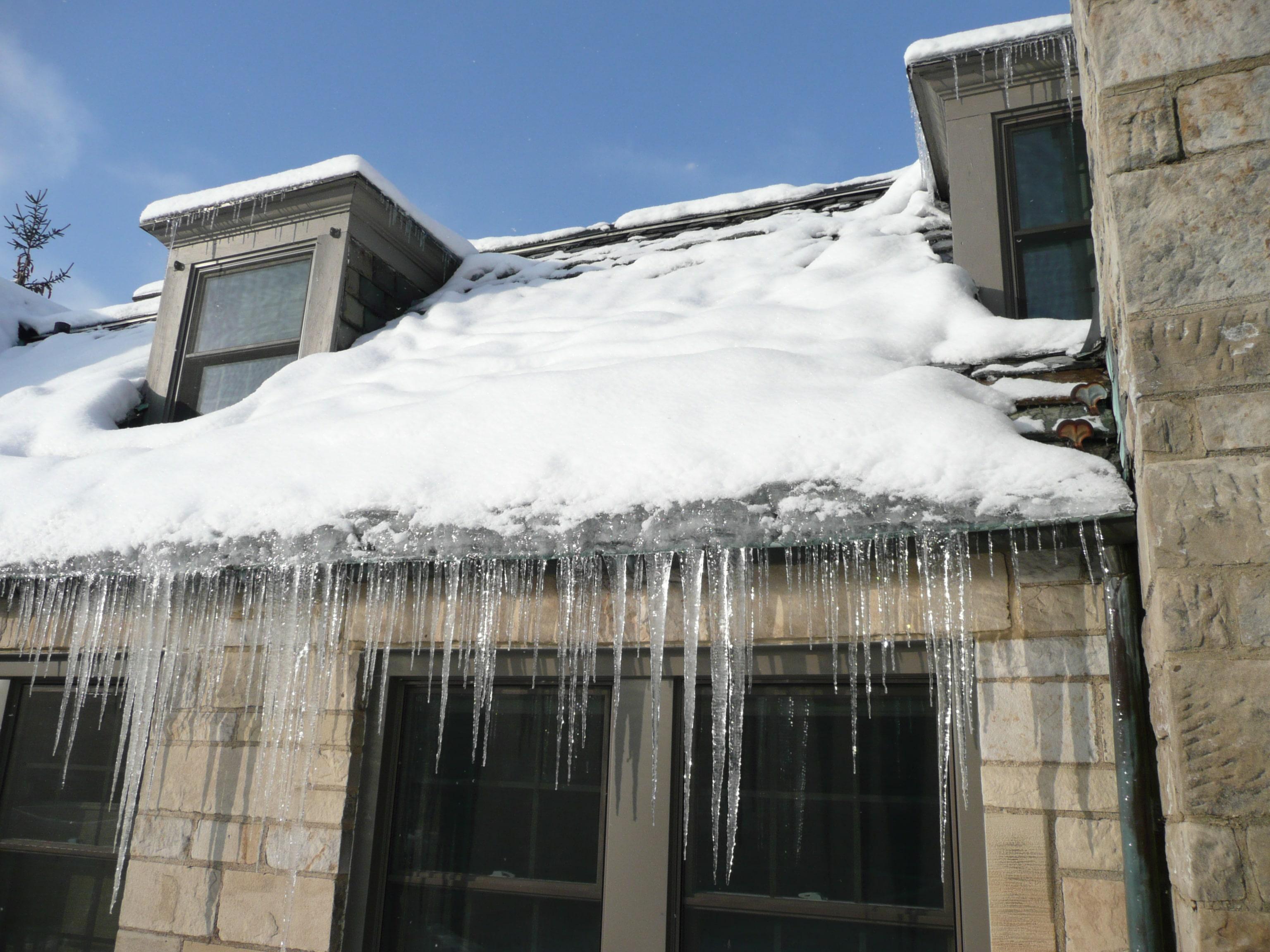 roof ice dams