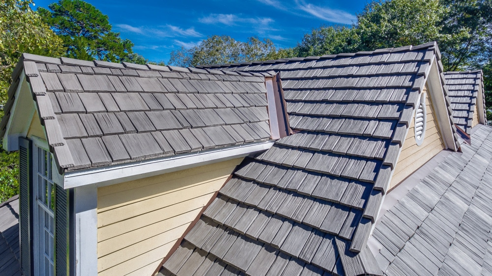 Davinci roofscapes davinci roofscapes 39 composite roof for Davinci roofing products
