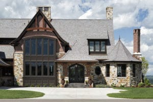 Hendel Homes davinci roofscapes composite slate