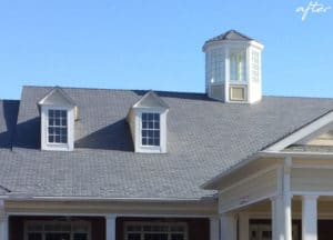 spring arbor of salisbury synthetic slate roofing product