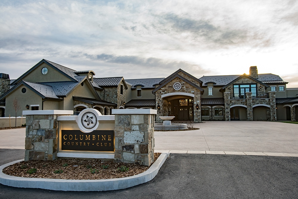 Columbine Country Club Composite Slate Roof