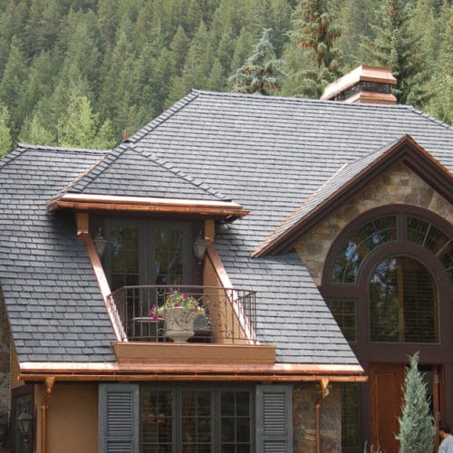 residential slate black tiles roofing roof