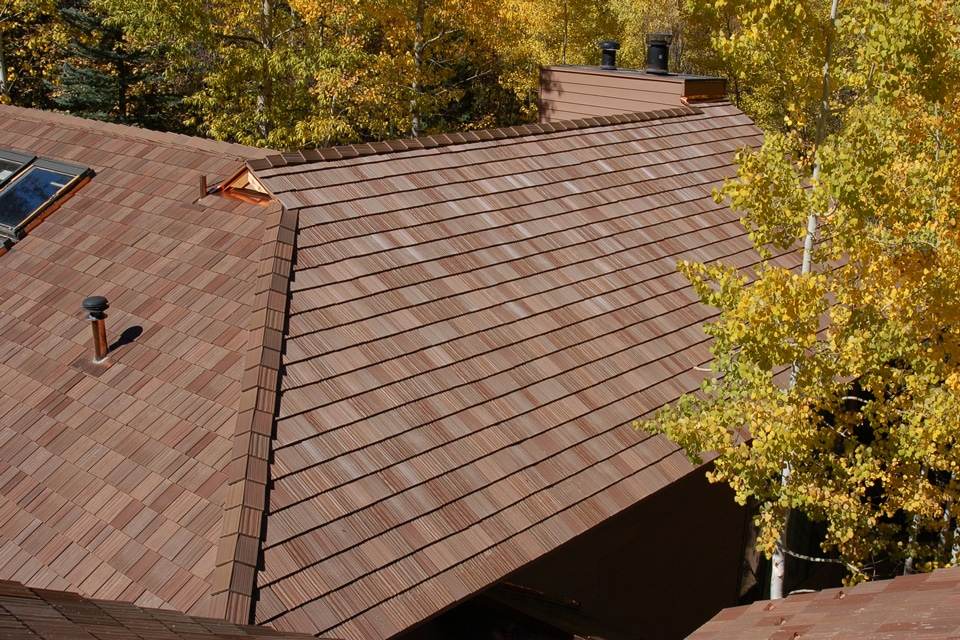 Autumn shake roof davinci roofscapes for Davinci roofscapes llc