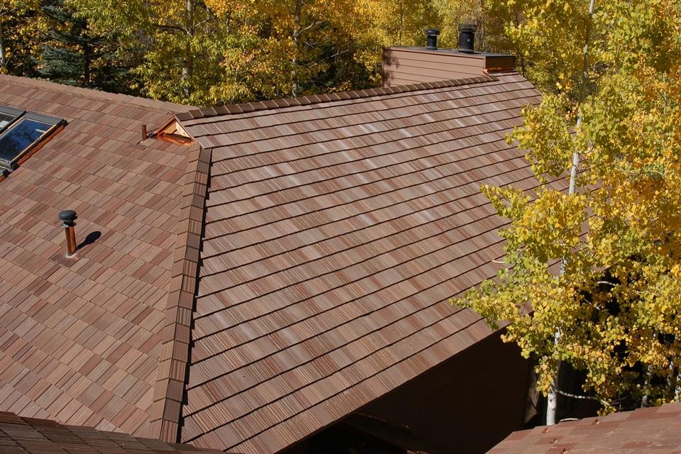 Autumn shake roof davinci roofscapes for Davinci roofscapes llc