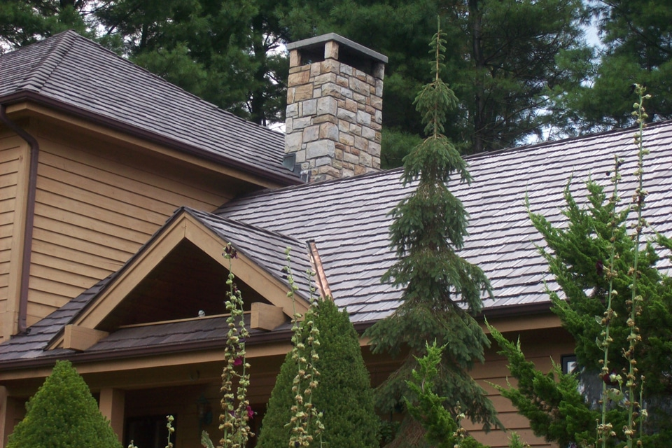 Synthetic roof high resolution images davinci roofscapes for Davinci slate roof reviews