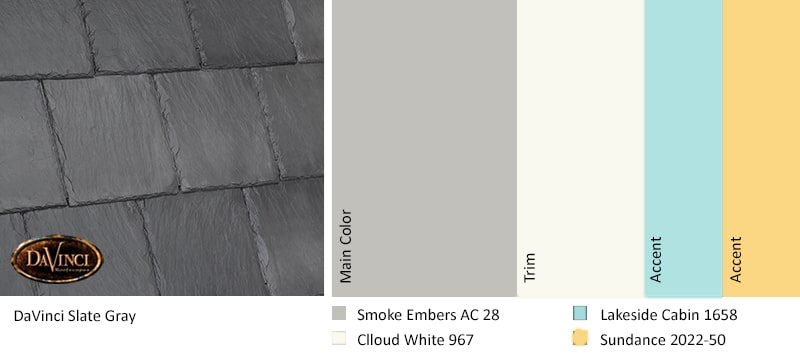 Color Trends 2019 Slate Gray Yellow
