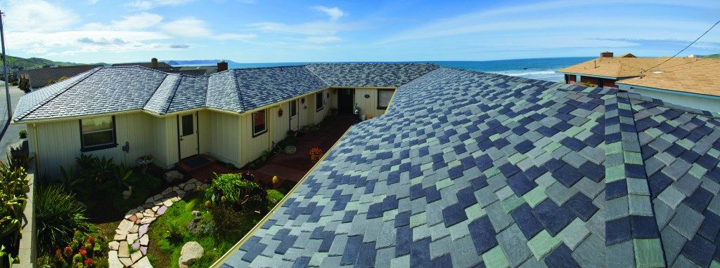 Polymer Roof Meets Oceanfront And Insurance Demands